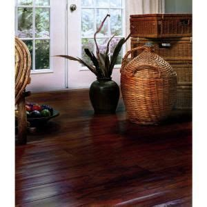 millstead wood flooring cleaning millstead scraped hickory cocoa 3 8 in thick x 4 1 4