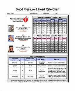 Pulse Pressure Chart Free 9 Blood Pressure Chart Sample Templates In Pdf Ms