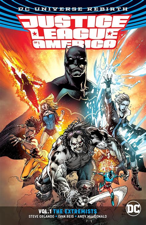 Review: Justice League of America Vol. 1- The Extremists ...