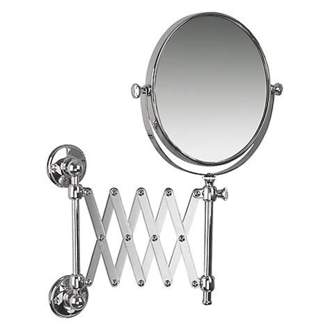 extending magnifying bathroom mirror buy miller stockholm extending magnifying mirror 18259