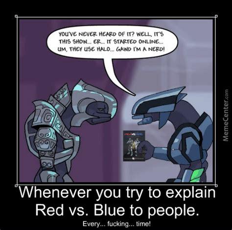 Red Vs Blue Memes - explaining red vs blue by jeramahia meme center