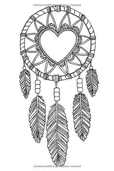 Dreamcatcher Printable Coloring Pages at GetColorings.com