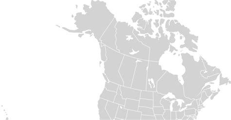 blank north america map  printable maps