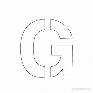 free letter stencil clipart With 1 inch letter stencils free
