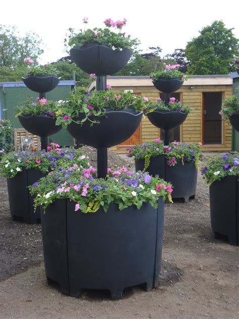 Tiered Gardens Pots For Small Balconies