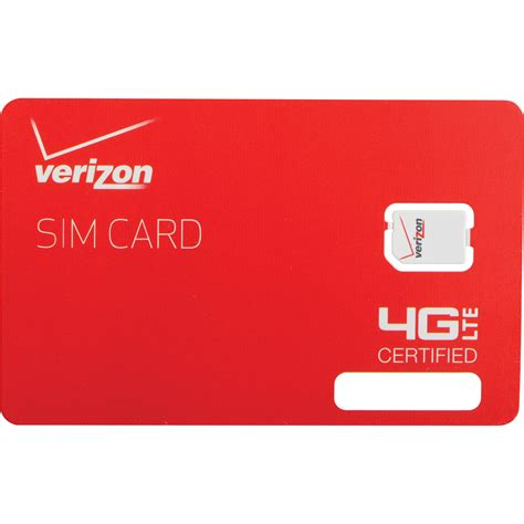 verizon iphone 4 sim card apple verizon 4g lte 4ff nano sim card dfillsim4ff a b h photo