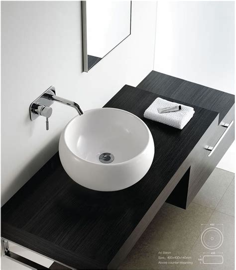Black Modern Bathroom Sinks by Details About Contemporary Modern Ceramic Cloakroom