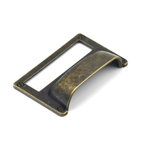 antique file cabinet hardware 81 51mm antique bronze drawer cup pull handle office home