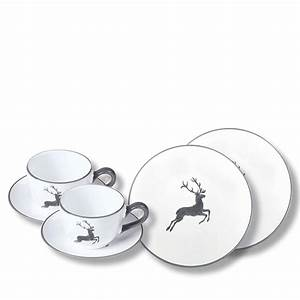 Gmundner Keramik Hirsch : hirsch fr hst ckset grau gmundner keramik ~ Watch28wear.com Haus und Dekorationen