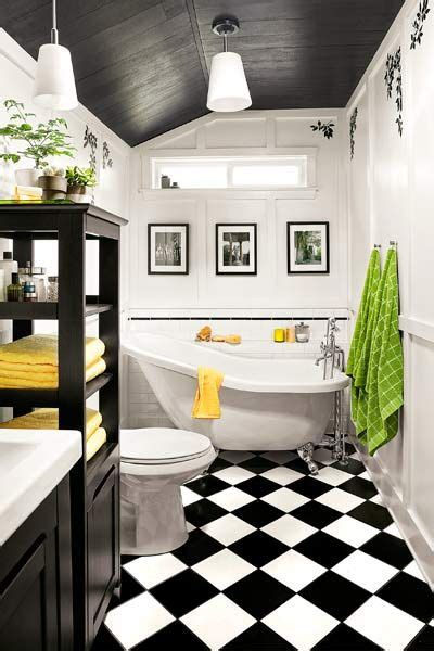 Black And White Bathroom Ideas by 10 Chic Black And White Bathroom Ideas