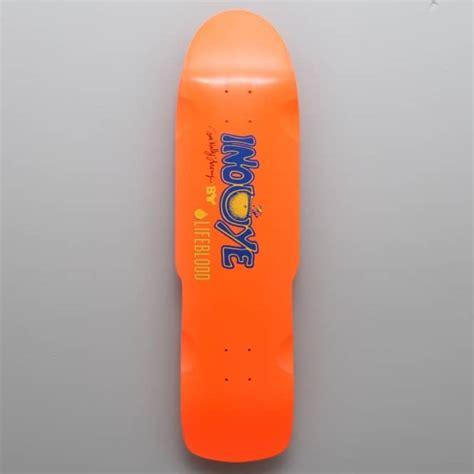 lifeblood skateboards inouye stinger skateboard deck 8 75