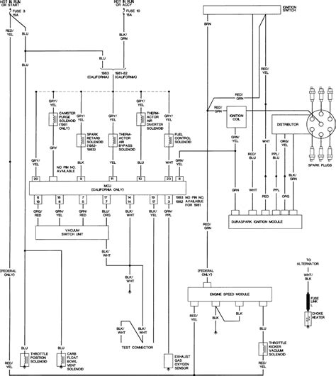 Wire Diagram 85 Ford E 350 by 85 Eeciv Tfi Feedback Carb To Duraspark Ii Ford Truck