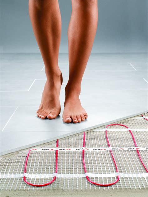 can i pour epoxy pebble flooring electric warm floor