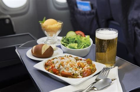 united upgrades  flight meal service food management