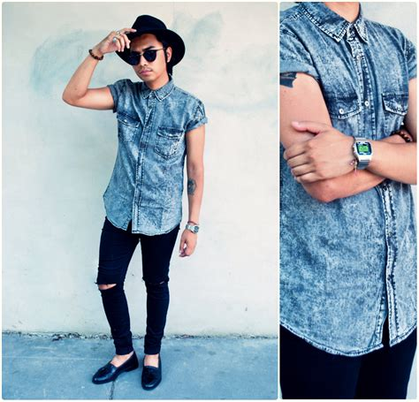 Denny Balmaceda - Forever 21 Men Top Bally Loafers - SOMEWHEREINAMERICA. | LOOKBOOK