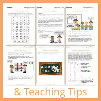 unit  worksheets  pages