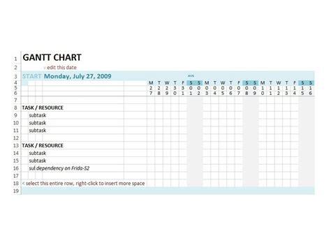 gantt chart template word 37 free gantt chart templates excel powerpoint word free template downloads