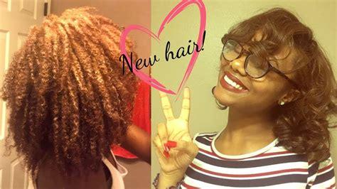 Creme Of Nature Dye Demo 4b4c Natural Hair Cinnamon