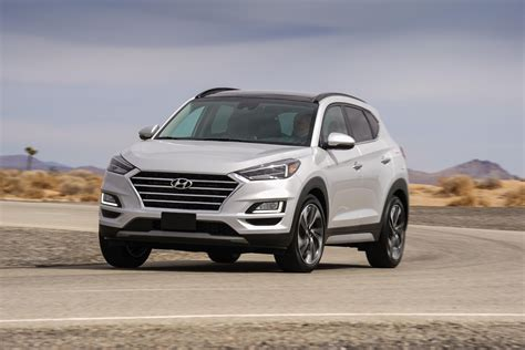 2019 Hyundai Tucson Gets A Fancier Face For Its Debut In