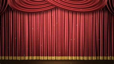 24 Length Curtains by High Definition Clip Of An Opening Red Stage Curtain