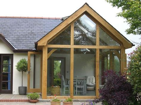 How Much Is A Sunroom Extension by How Much For A Cheap Wood Timber Frame Sun Room