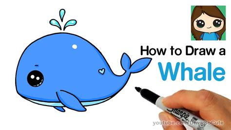 draw  baby whale cute  easy cumseface