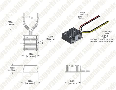 48 Volt Wiring Diagram Reducer by Forklift Voltage Reducers 36 48 Volt To 12 Volt