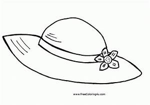 free printable top hat coloring page coloring home With top hat template for kids