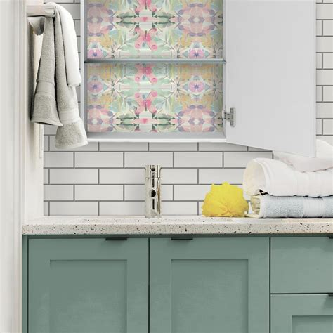30 Creative Ways To Use Peel And Stick Wallpaper