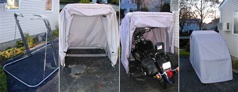What People Are Saying About Our Bike Barn Motorcycle Shelters