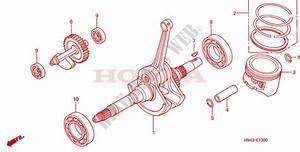 2001 Trx 350 Engine Diagram : crankshaft piston for honda fourtrax rancher 350 4x2 2001 ~ A.2002-acura-tl-radio.info Haus und Dekorationen