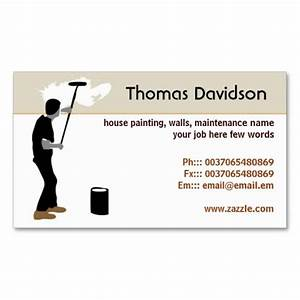 201 best images about painter business cards on pinterest for House painter business cards