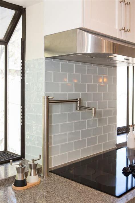 gray subway tile kitchen backsplash hgtv