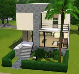 small modern house sims 3 sims 3 house blueprints modern small house mexzhouse
