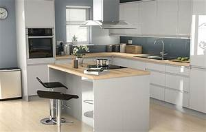 It, Marletti, Dove, Grey, Gloss, With, Integrated, Handle