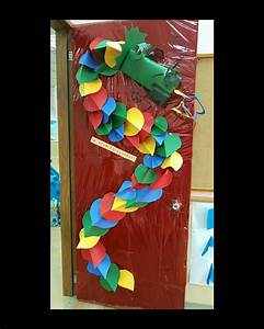 Chinese New Year classroom door decoration by ...