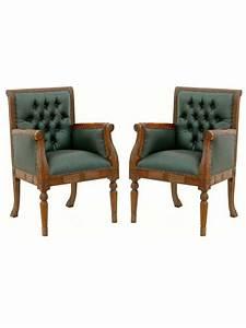 Fauteuil Style Anglais : fauteuil style anglais victorien en acajou ~ Teatrodelosmanantiales.com Idées de Décoration