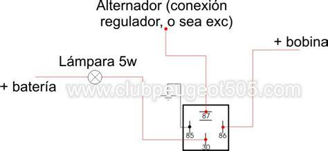 www clubpeugeot505 view topic alternador carga excesiva rele relay lara