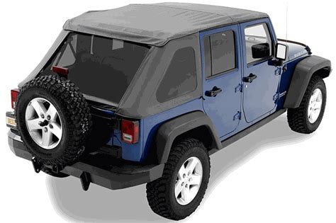 jeep frameless soft top all things jeep bestop trektop nx frameless soft top for