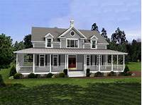 house plans with wrap around porch Simple laundry room, barn style house plans country style ...
