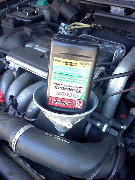 automatic transmission fluid drain