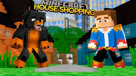 minecraft donut  dog adventures buying   cool mansion youtube