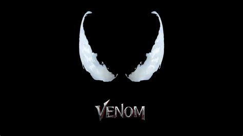 1360x768 Venom Movie Logo 4k Laptop Hd Hd 4k Wallpapers