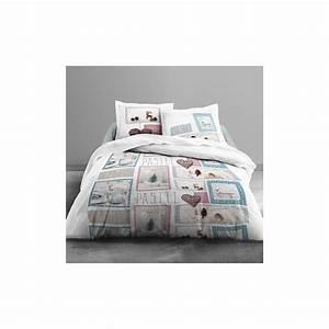 Parure Lit 220x240 : achat parure de lit coton 220x240 cm today home pastel pas ~ Teatrodelosmanantiales.com Idées de Décoration