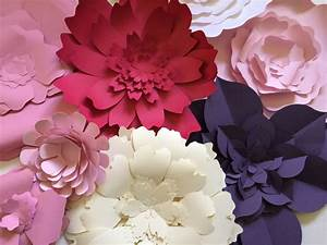 Diy Large Paper Flower Wall - Do It Your Self