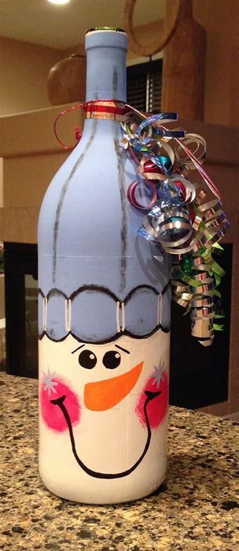 bottles upcycled  christmas upcycle art