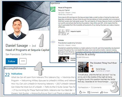 10 Thrilling Linkedin Profile Examples For Job Seekers ...