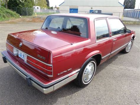 manual cars for sale 1986 buick electra electronic throttle control buy used 1985 buick electra 380 v6 2 door 22k miles automatic 1986 1987 1988 1989 1990 in united