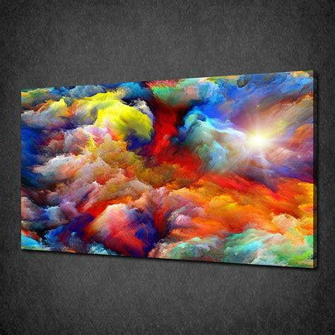 colorful wall decor not framed 12x19 quot abstract colorful wall pictures