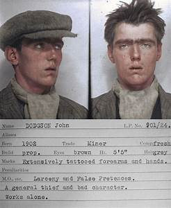 The real life Peaky Blinders: Gritty mugshots of petty ...